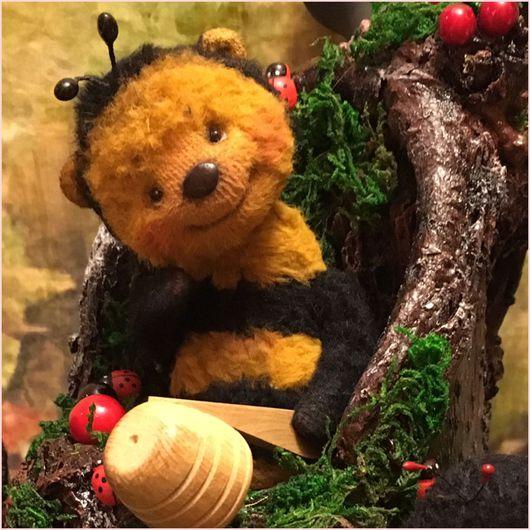 Мишки Тедди ручной работы. Ярмарка Мастеров - ручная работа. Купить Капля лета на ладонь упала............... Handmade. Мишка тедди