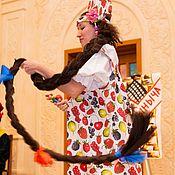 Костюмы ручной работы. Ярмарка Мастеров - ручная работа Русский-народный костюм. Handmade.
