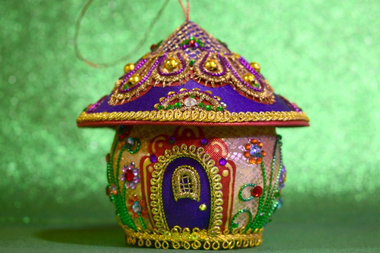 Ёлочная игрушка Сказочный домик, Елочные игрушки, Пушкинские Горы,  Фото №1