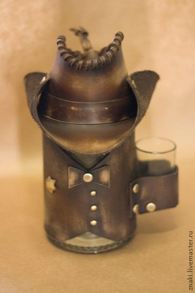 """Подарки для мужчин, ручной работы. Ярмарка Мастеров - ручная работа. Купить Пивная кружка """"Шериф"""". Handmade. Кружка в подарок"""