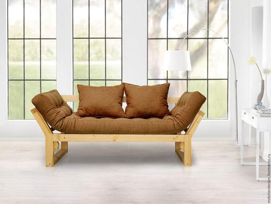 Мебель ручной работы. Ярмарка Мастеров - ручная работа. Купить Диван Amber. Handmade. Мебель из сосны, лофт стиль, рогожка
