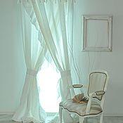 Для дома и интерьера ручной работы. Ярмарка Мастеров - ручная работа Шторы белые вуальПЭ. Handmade.