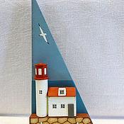 Для дома и интерьера ручной работы. Ярмарка Мастеров - ручная работа ключница/вешалка для украшений. Handmade.