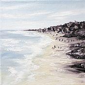 Картины и панно handmade. Livemaster - original item Oil painting Sea Seascape. Handmade.