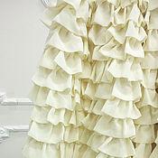 """Одежда ручной работы. Ярмарка Мастеров - ручная работа Юбка """"Фея"""" ванильная полусолнце. Handmade."""