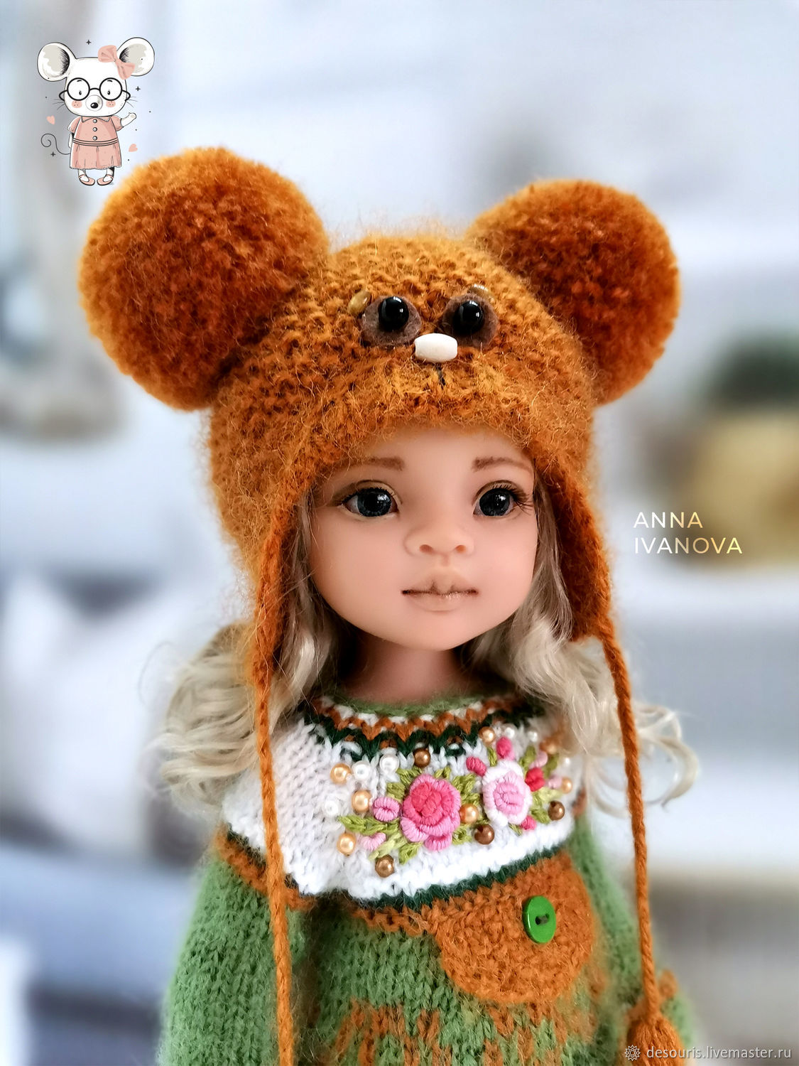 Clothes for Paola Reina dolls. Costume ' Mishutka', Clothes for dolls, Voronezh,  Фото №1