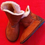 Обувь ручной работы handmade. Livemaster - original item Homemade Mouton ugg boots for size 37. Handmade.