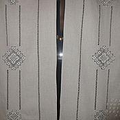 Для дома и интерьера handmade. Livemaster - original item Curtains made of linen with embroidery of Ivanovo line No. №2. Handmade.