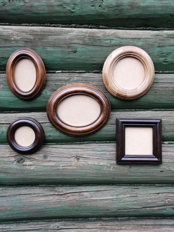 Овальные и круглые рамки для фото, вышивки, картин, Фоторамки, Александров,  Фото №1