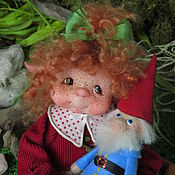 """Куклы и игрушки ручной работы. Ярмарка Мастеров - ручная работа """"Гномочка Эйли"""". Handmade."""