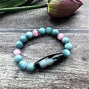 Фен-шуй и эзотерика handmade. Livemaster - original item Software bracelets (bead DZI). Handmade.