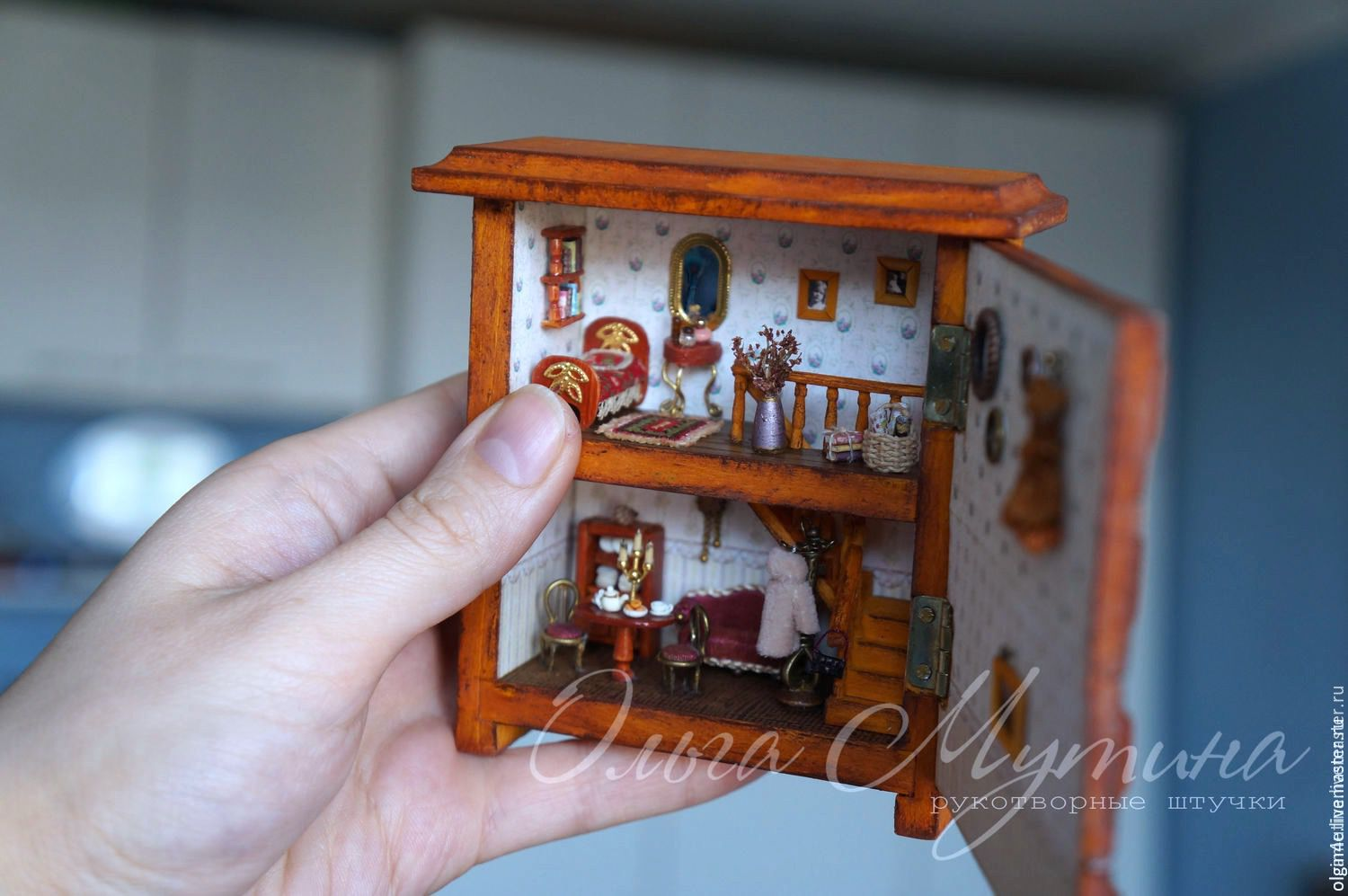 The drawers, in which to live, Miniature figurines, Cheboksary,  Фото №1