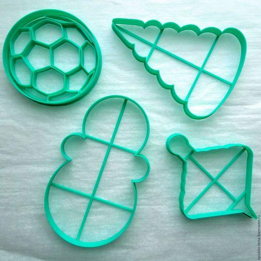Кухня ручной работы. Ярмарка Мастеров - ручная работа. Купить Игрушки - вырубка для печенья, пряников, мастики. Handmade. Комбинированный