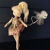 Куклы и игрушки ручной работы. Ярмарка Мастеров - ручная работа Мечтательница Галя. Handmade.
