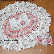 Работы для детей, ручной работы. Ярмарка Мастеров - ручная работа сарафан для девочки  Цветок Хлопка платье. Handmade.