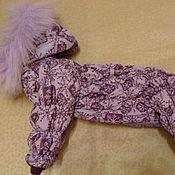Для домашних животных, ручной работы. Ярмарка Мастеров - ручная работа Зимний комбинезон для собак. Handmade.
