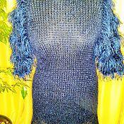 """Одежда ручной работы. Ярмарка Мастеров - ручная работа Вязанная туника """"Blue"""". Handmade."""