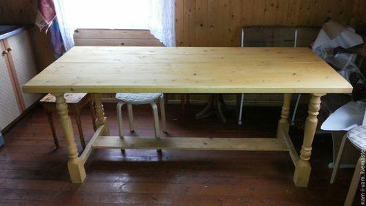 Мебель ручной работы. Ярмарка Мастеров - ручная работа. Купить Стол обеденный. Handmade. Стол, мебель из дерева, дачный интерьер