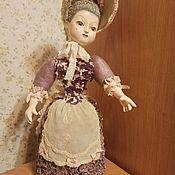 Будуарная кукла ручной работы. Ярмарка Мастеров - ручная работа Авторская кукла с подвижными ручками и головой.. Handmade.