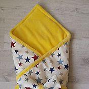 Работы для детей, ручной работы. Ярмарка Мастеров - ручная работа Конверт-одеялко для выписки. Handmade.