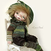Куклы и игрушки ручной работы. Ярмарка Мастеров - ручная работа Гном Кукумбер. Handmade.