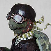 """Куклы и игрушки ручной работы. Ярмарка Мастеров - ручная работа Авторская кукла """"Ускорение"""" (Черепашка Пашка). Handmade."""