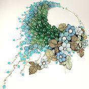 Украшения handmade. Livemaster - original item River Parfait. Necklace made of natural stones, the colors of the skin. Handmade.