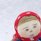 """Куклы и игрушки ручной работы. Ярмарка Мастеров - ручная работа Кукла игровая  """"Стешенька с корзиночкой"""". Handmade."""