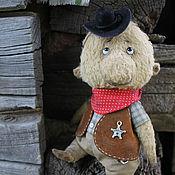 Куклы и игрушки ручной работы. Ярмарка Мастеров - ручная работа Мишка Шериф. Handmade.