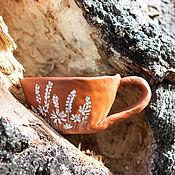 """Посуда ручной работы. Ярмарка Мастеров - ручная работа Кружка """"Люпины"""". Handmade."""