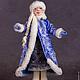Коллекционные куклы ручной работы. Заказать Снегурочка. Жанна Бугрова. Ярмарка Мастеров. Дед Мороз и Снегурочка, кукла из шерсти