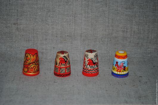 Сувениры ручной работы. Ярмарка Мастеров - ручная работа. Купить Напёрстки. Handmade. Комбинированный, темперные краски
