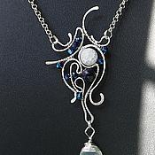 Украшения handmade. Livemaster - original item Pendant Gentle Ghost. Handmade.
