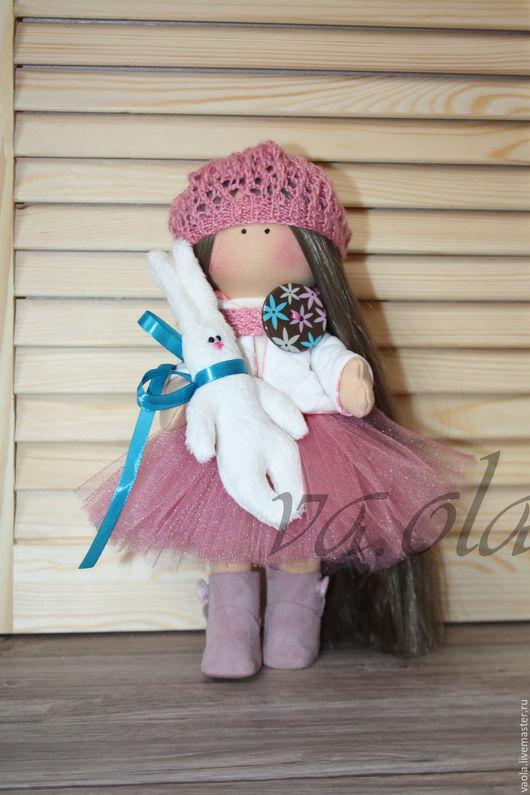 Куклы тыквоголовки ручной работы. Ярмарка Мастеров - ручная работа. Купить Интерьерная кукла Даурия. Handmade. Брусничный, подарок на новый год
