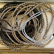 Украшения ручной работы. Ярмарка Мастеров - ручная работа Кожаные повязки для волос. Handmade.