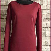 Одежда ручной работы. Ярмарка Мастеров - ручная работа Платье из трикотажа ( джерси). Handmade.