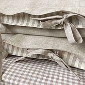 Для дома и интерьера handmade. Livemaster - original item Pillowcases linen