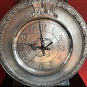 """Винтаж ручной работы. Ярмарка Мастеров - ручная работа Настенные  оловянные часы , """"Старый город"""", Голландия. Handmade."""
