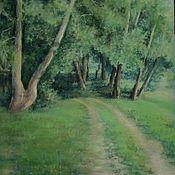 Картины ручной работы. Ярмарка Мастеров - ручная работа Картины: Дорога в лето. Handmade.