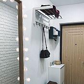 Для дома и интерьера handmade. Livemaster - original item White wall hanger. Handmade.