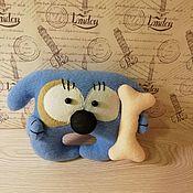 Мягкие игрушки ручной работы. Ярмарка Мастеров - ручная работа Мягкие игрушки: Собака Соня. Handmade.