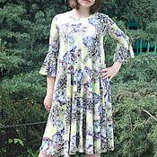 Одежда handmade. Livemaster - original item Stylish knitted long dress. Handmade.