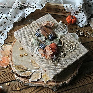 Stationery handmade. Livemaster - original item Cookbook