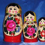Русский стиль ручной работы. Ярмарка Мастеров - ручная работа Матрешка 6 - кукольная. Handmade.