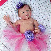 Куклы и игрушки ручной работы. Ярмарка Мастеров - ручная работа Винил-силиконовая куклы Аннализа. Handmade.