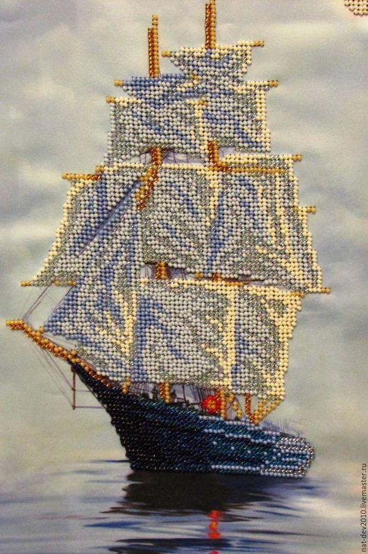 Пейзаж ручной работы. Ярмарка Мастеров - ручная работа. Купить Тихая гавань. Handmade. Комбинированный, мечта, preciosa