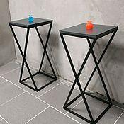 Столы ручной работы. Ярмарка Мастеров - ручная работа Прикроватный столик. Handmade.
