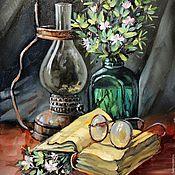 """Картины и панно ручной работы. Ярмарка Мастеров - ручная работа """"СРЕТЕНИЕ"""" холст/масло. Handmade."""