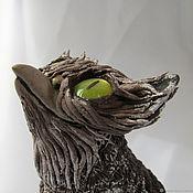 Статуэтки ручной работы. Ярмарка Мастеров - ручная работа Совух, существо из Тёмного леса. Handmade.