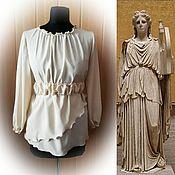 Одежда handmade. Livemaster - original item Silk blouse